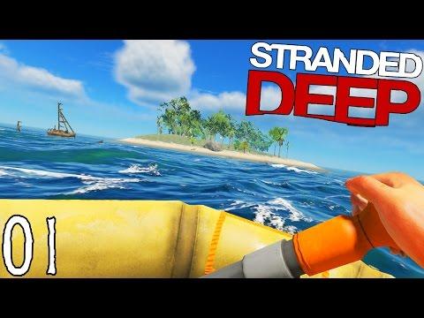 SEUL SUR UNE ÎLE !   Stranded Deep ! #Ep1