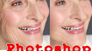 10 Min Photoshop Facelift: How To Remove 30 years with CS4