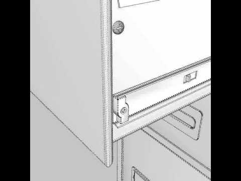 3D Model of Filing Cabinet Review