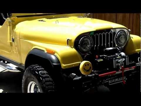 1983 cj7 jeep walk around