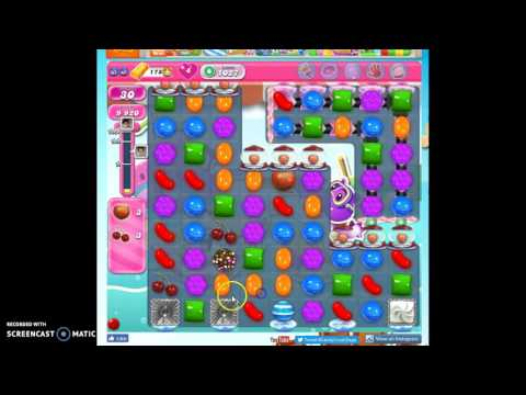 Candy Crush Level 1027 help w/audio tips, hints, tricks