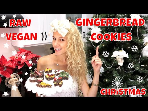 GINGERBREAD COOKIES | RAW VEGAN CHRISTMAS