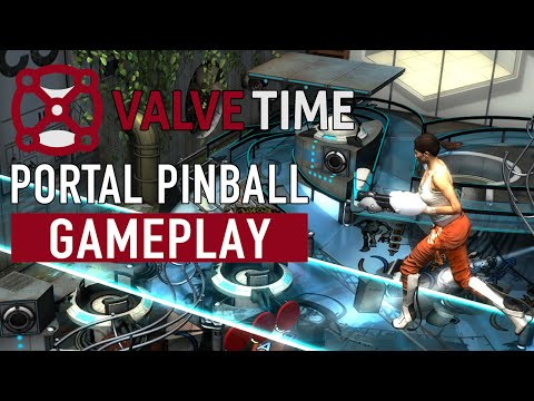 Portal Pinball Gameplay Preview