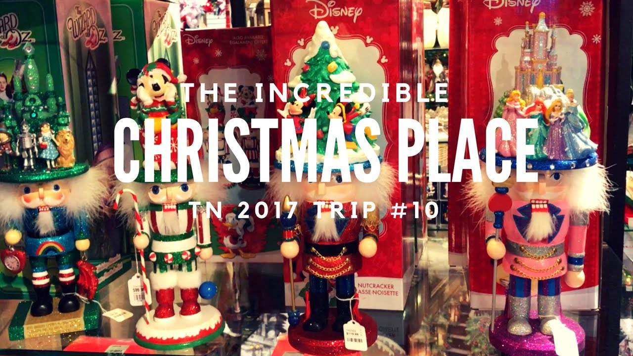 The Incredible Christmas Place! - Pigeon Forge - YouTube
