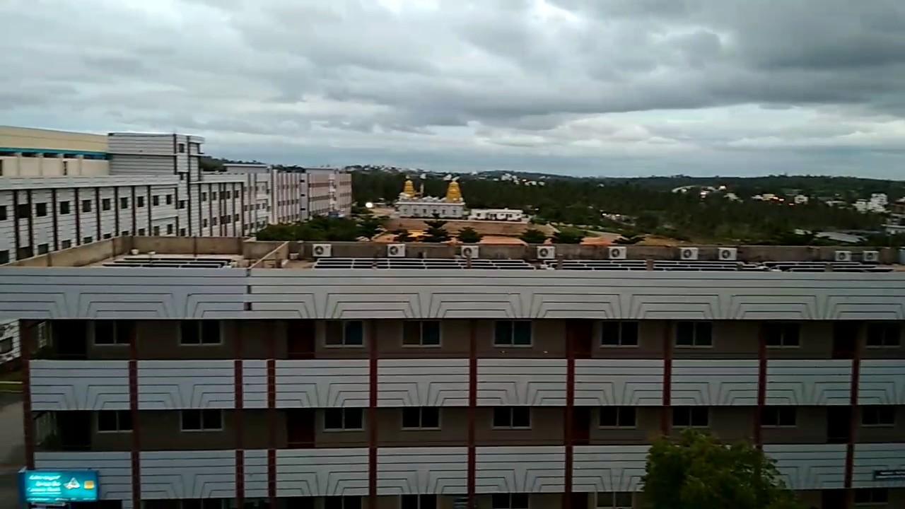 RNSIT college Bangalore aerial view