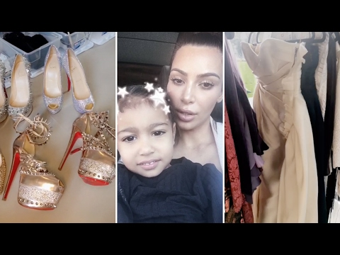 Kim Kardashian's Ten Million Dollar Closet Tour 2017 | Full Video