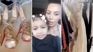 Kim Kardashian's Ten Million Dollar Closet Tour 2017 | Full Video