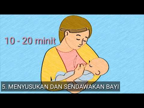 2 MINIT BERSAMA PA&MA: CARA BEDUNG BAYI.
