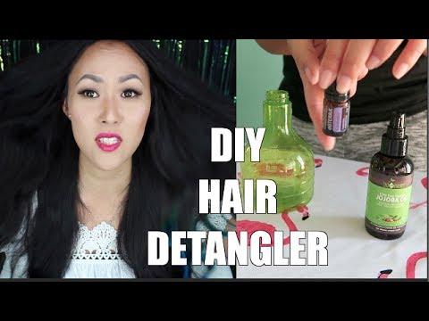 DIY HAIR DETANGLER | 3 EASY STEPS