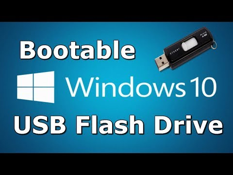 How to Install Windows 10 From USB Flash Drive