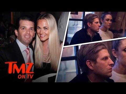Eric Trump Crepes All Over Don Jr 's Divorce | TMZ TV