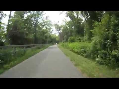Shining Sea  Bike Trail NB June 2014 Virtual Cycling
