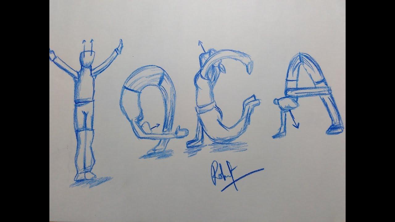 Drawing Yoga Postures By Yoga Name Youtube
