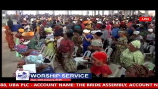 WORSHIP SERVICE 13-01-2019 LIVE BROADCAST THE BRIDE ASSEMBLY