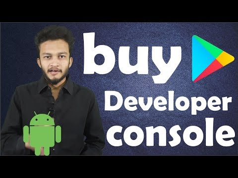 {HINDI} how to purchase google play developer console | Register for a Google Play Developer account