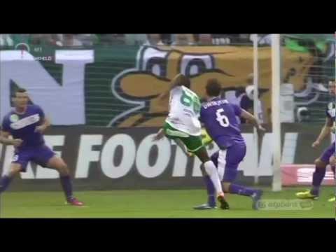 Somalia gólja a Ferencváros-Újpest mérkőzésen