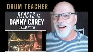 Download Drum Teacher Reacts to Danny Carey - Drum Solo Mp3 and Videos