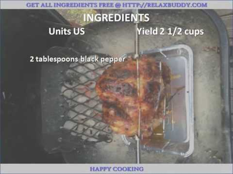 Rotisserie Chicken Rub recipe