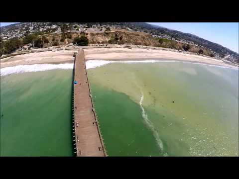 flying over the cement ship, Aptos