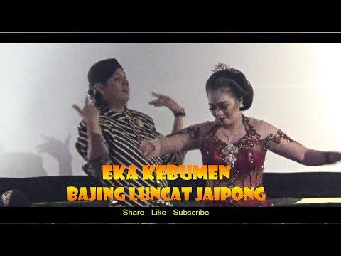 Bikin NGILERR ...Gemulai tari Jaipong oleh Eka Kebumen dalam LIMBUKAN Wayang ANOM vs MANTEB