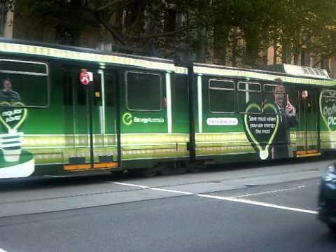 Tram 2068 Ad For Energy Australia