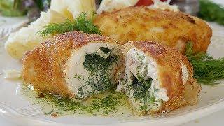 Котлета по-киевски вкусный рецепт. Chicken Kiev recipe