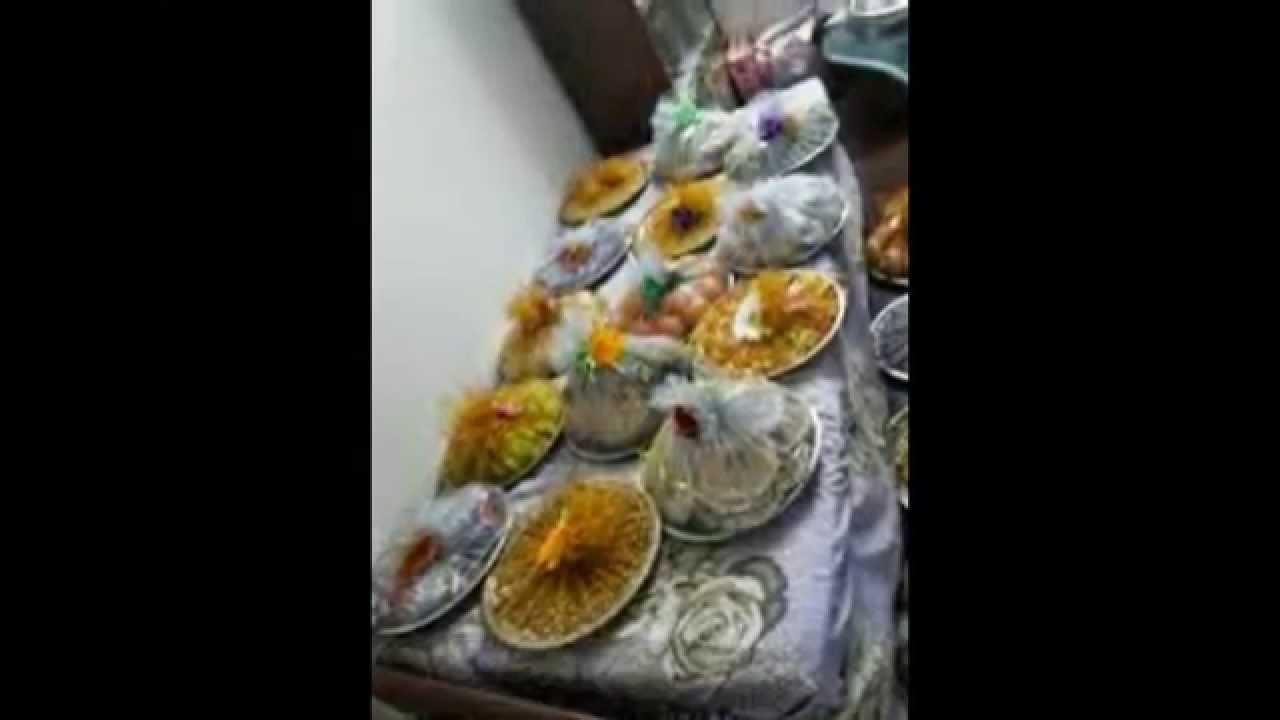 Varusai thattu arathi plate lakshvan decorations youtube for Arathi thattu decoration