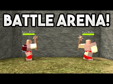BATTLE ARENA!   ROBLOX: Booga Booga (w/ TanqR)
