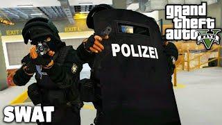 GTA 5 SWAT MOD - ANSCHLAG im LABOR! - Deutsch - Grand Theft Auto V Polizei
