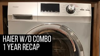 Haier washer/dryer combo - one…