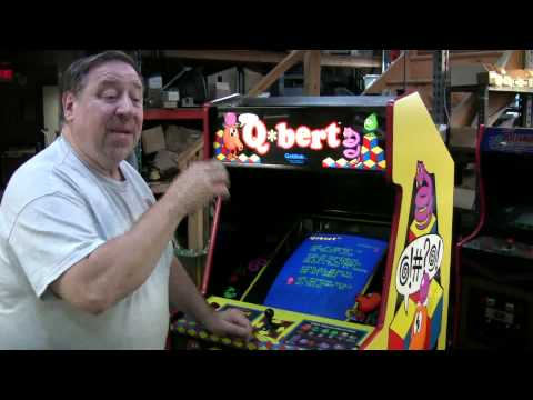 #291 Gottlieb QBERT Classic Arcade Video Game!Our 34th one sold! TNT Amusements