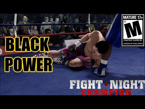 CHEATING RACIST GAMER SUBMITS TO A BLACK MAN?-Fight Night Champion Xbox One
