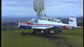 Fletcher Airplane Cropdusting New Zealand 1996.