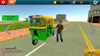 City Tuk Tuk Rickshaw Driver 2019 | Auto rickshaw simulator | smart gammer