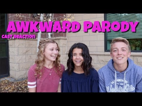 REACTION TO AWKWARD PARODY - TAYLOR SWIFT GORGEOUS