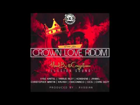 Crown Love Riddim Mix | Dancehall 2016 | Head Concussion Records