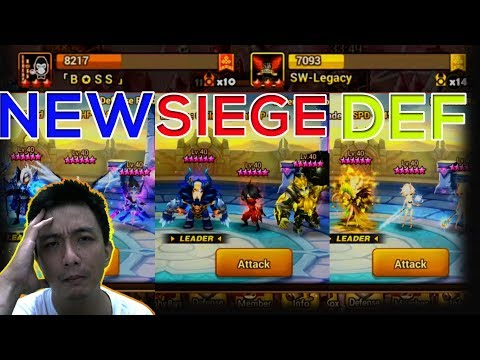 [TOP 5] Summoners War SIege Battle VS BOSS And SW Legacy - Isengdudegame Summoners War