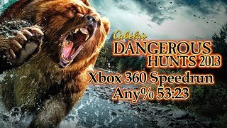 Cabela's Dangerous Hunts 2013 - Any% Speedrun (53:23)