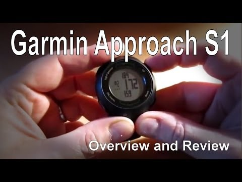 Garmin Approach S1 Golf GPS Watch Overview