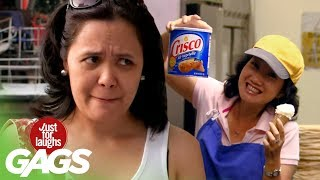 Funny Video – The Most DISGUSTING Ice Cream Cone Ever