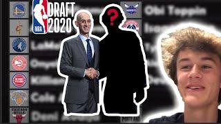 2020 NBA Mock Draft (Lottery only)
