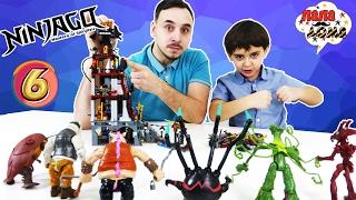 - Папа РОБ и ЯРИК Финальный этап сборки LEGO NINJAGO Лего Ниндзяго Часть 6