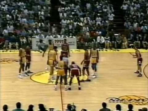 1991 NBA Finals: Bulls at Lakers, Gm 4 part 1/13