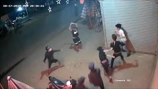 Gần chục thanh niên vác mã tấu chém nhau loạn xạ như phim ở Lâm Đồng