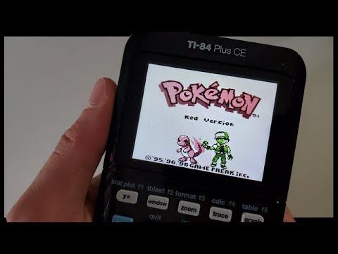 Playing Pokemon    On a CALCULATOR?