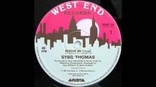 SYBIL THOMAS - Rescue Me (Vocal)