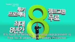 Twokey Projector CF in public TV (with EN subtitle)