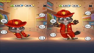 My Talking Tom - Tom Little and large Gameplay Great Makeover for Children HD