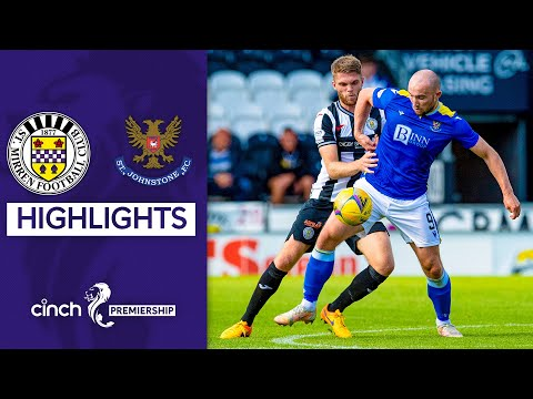 St Mirren St. Johnstone Goals And Highlights