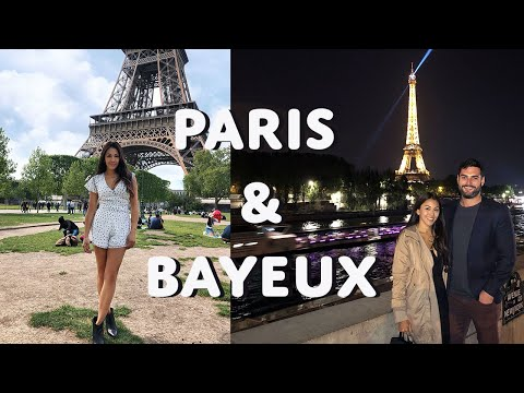 Exploring Paris & Bayeux | France Vlog part 1 | LesacaTriesStuff